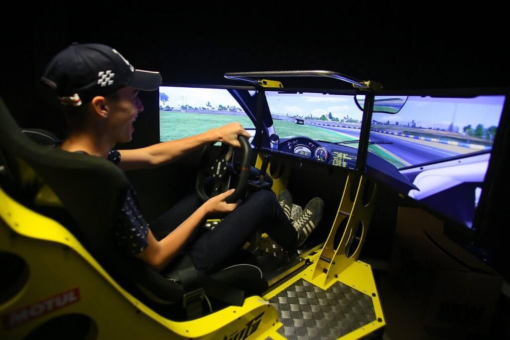 Simulateur Le Mans Karting