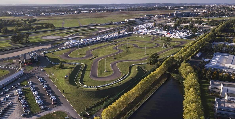 Karting CIK / Club - circuit vue du ciel